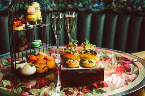 Leila Lilys - Traditional afternoon tea for two with a cocktail or glass of Prosecco each - Save 52%