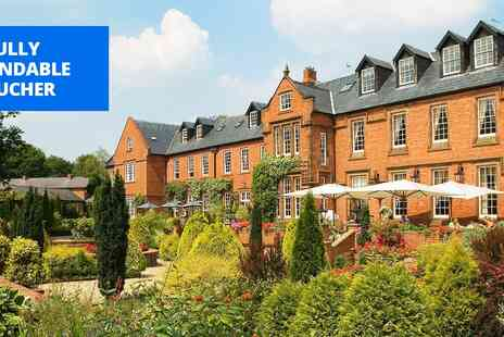Nunsmere Hall Hotel - Cheshire country house stay with meals - Save 40%