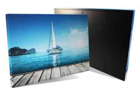 Grange Print - Choice of Eco Box Collage Canvas - Save 81%