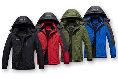 My Brand Logic - Mens windproof fleece jacket - Save 63%