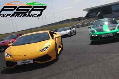 PSR Experience - Up to Six Laps in a Variety of Supercars, Weekday or Weekend - Save 20%