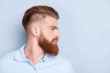 Joseph Elliott Barbers - Mens cut and finish plus a beard shaping, oils, hot towel and brow shaping - Save 56%