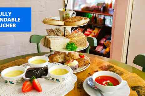 JellyPickleJam - Afternoon tea for 2 at vintage Evesham tea room - Save 47%