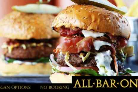 All Bar One - Choice of Main with Sharing Nachos or Sharing Dessert for Up to Six - Save 50%