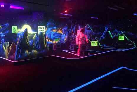 Laser Quest - One round of Adventure Golf for two people - Save 50%