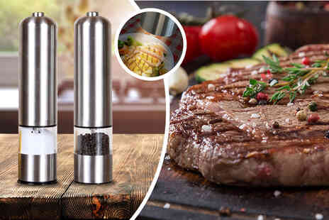 Direct2Public - Salt and pepper mills - Save 67%