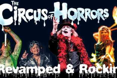 The Circus of Horrors - One ticket to Circus of Horrors with a programme - Save 34%
