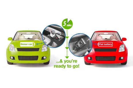 CJ Offers - Car charge and start plug - Save 45%