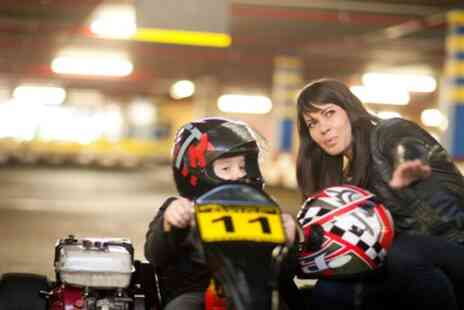 The Midland Karting - Family Circuit Go Karting for Up to Four - Save 46%