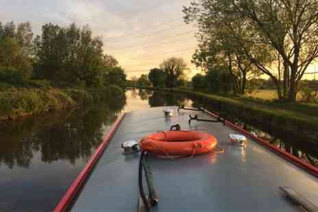 Lancashire Canal Cruises - 90 Minute Hotpot Canal Cruise for Two or Four - Save 25%