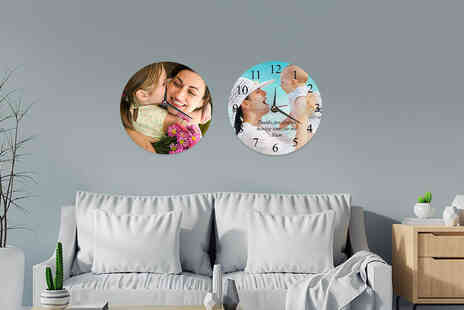 We Personalize - Personalised wall clock - Save 0%