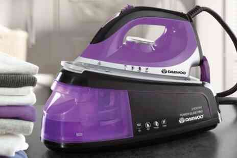Groupon Goods Global GmbH - Daewoo 2400W Steam Station Iron - Save 34%