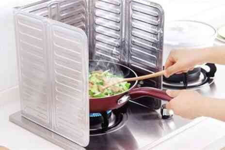 Groupon Goods Global GmbH - Kitchen Oil Splash Anti Splatter Guard Shields - Save 60%
