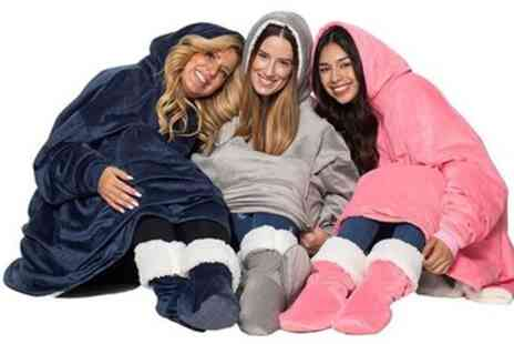 Groupon Goods Global GmbH - Hooded Blanket - Save 54%