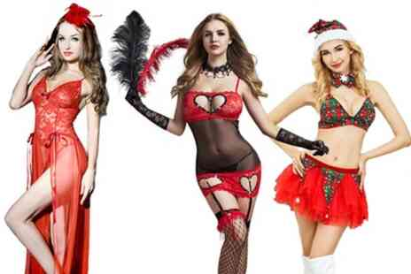 Groupon Goods Global GmbH - Christmas Lingerie Selection - Save 75%