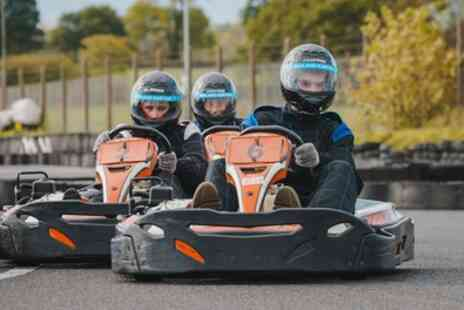 The Midland Karting - 60 Minute GoKarting Experience for One, Two or Four - Save 58%