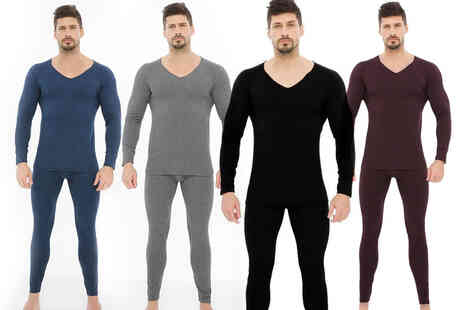Domo Secret - Two pack of mens thermal underwear - Save 67%