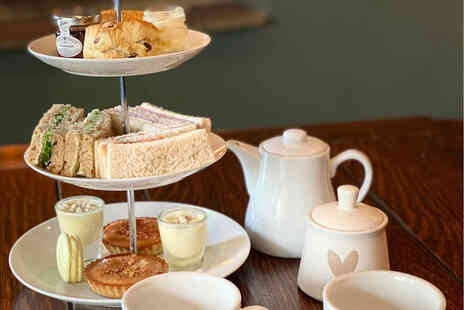 The Crown Inn - Traditional afternoon tea for two people - Save 52%