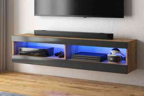 Selsey Living - 100cm Viansola LED TV stand - Save 55%