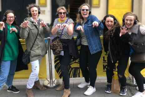Silent Disco Walking Tours - Silent Disco Christmas Party Tour for Up to Four - Save 38%