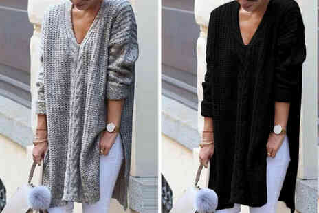 Top Good Chain - Womens oversized jumper - Save 74%