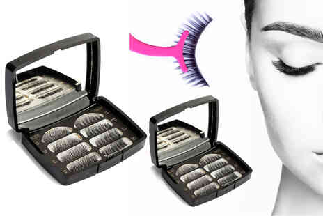 Forever Cosmetics - Magnetic false lashes with mirror and applicator set - Save 73%
