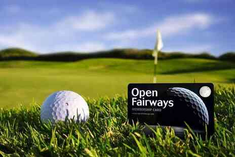 Open Fairways - Six month Open Fairways membership - Save 57%