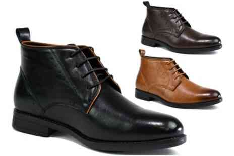 Groupon Goods Global GmbH - Mens Pull On Chelsea Boots or Lace Up Deserts Boots - Save 0%