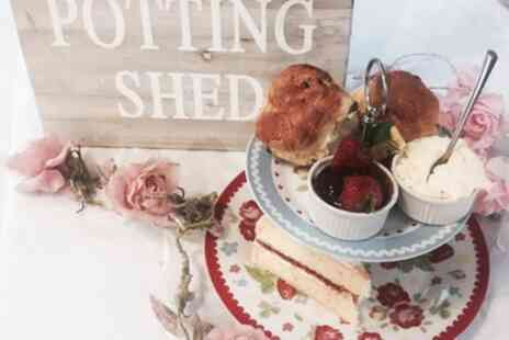 The Potting Shed - Afternoon Tea for Up to Four - Save 21%