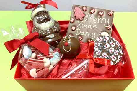 The Cocoabean Company - Personalised Christmas chocolate hamper - Save 47%
