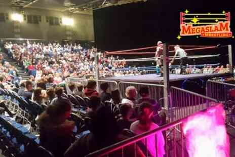 Megaslam American Wrestling - One or four tickets - Save 0%