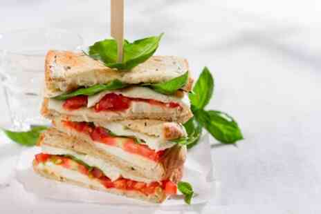 LUV Baguette - Panini, Wedge and Salad for One, Two or Four - Save 34%
