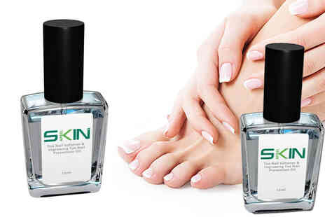 Forever Cosmetics - Toe nail softener and ingrowing prevention oil - Save 63%