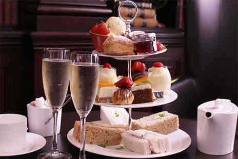 Glasgow Manor Operations - Weekday afternoon tea for two with a glass of Prosecco each - Save 54%