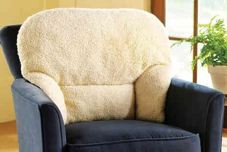 Chums - Deluxe fleece lumbar support cushion - Save 30%