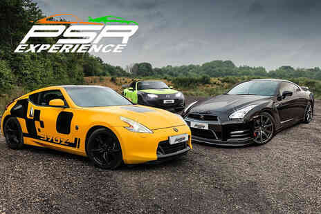 PSR Experience - One lap Nissan GTR driving experience with PSR Experience - Save 0%
