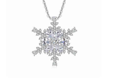 Your Ideal Gift - Crystal snowflake pendant - Save 0%