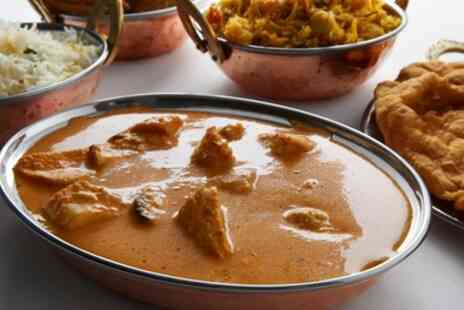 Flavours N Spices - Two Course Indian Meal with Naan for Two or Four - Save 37%