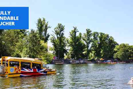 Windsor Duck Tours - Tour Windsor by amphibious vehicle - Save 43%
