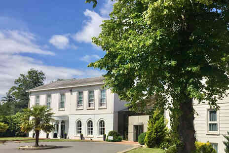 Manor of Groves Hotel - Leisure experience for one person including facilities, sparkling afternoon tea - Save 26%