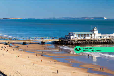 Hotel Collingwood - A Bournemouth stay for two with one bottle of wine to share, spa access, breakfast - Save 54%