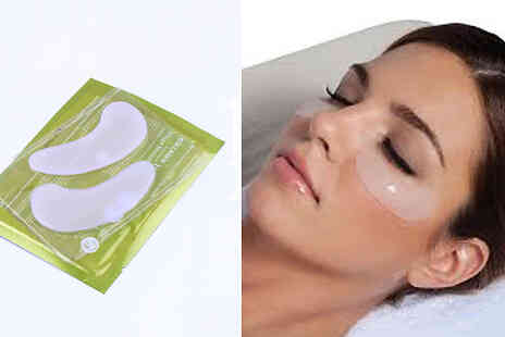 Forever Cosmetics - White Hyaluronic & Collagen Eye Masks - Save 65%