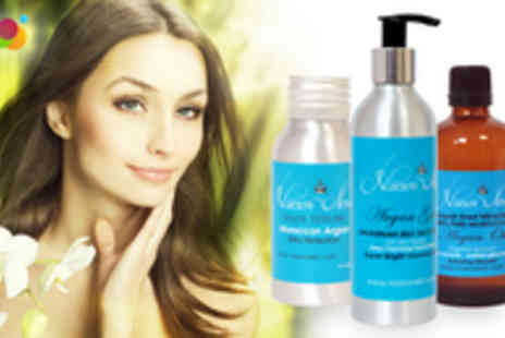 Narson Skin - £3 for a £15 Voucher to spend on any Moroccan Argan Oil Beauty Skin Care Product - Save 80%
