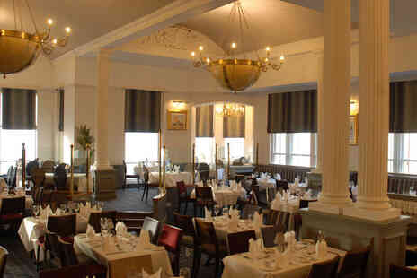 The Imperial Hotel Blackpool - Three course dining for two people including one bottle of wine to share - Save 0%
