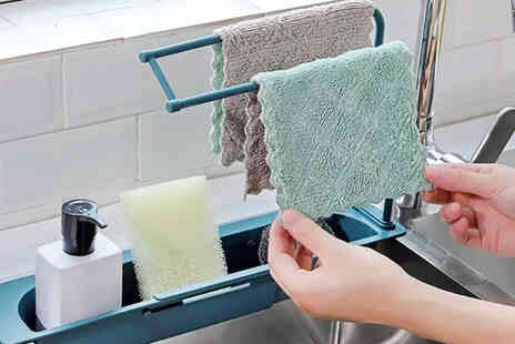 I Nod - Telescopic sink storage rack and basket - Save 0%