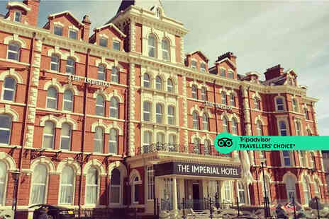 The Imperial Hotel Blackpool - A Blackpool hotel stay for two people - Save 45%