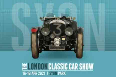 The London Classic Car Show 2021 - One standard day ticket - Save 34%