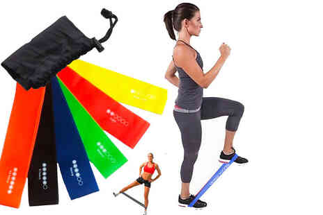 Vivo Mounts - Pack of six level resistance bands - Save 71%