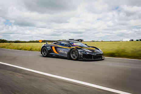 Drift Limits - An Eight lap McLaren MP4-12C GT3 driving experience - Save 50%