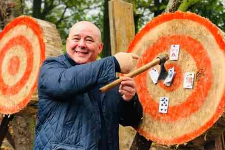 Yorkshire Activity Centre - One Hour Axe Throwing Experience for Two or Four - Save 48%